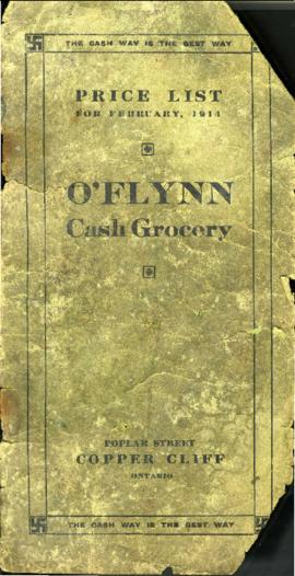 O'Flynn Cash Grocery Price List