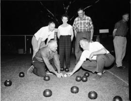 Guelph lawn bowler hosted by the Acton Lawn Bowling Club