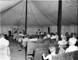 York Rd. Baptist Church conducts old-fashioned tent meeting