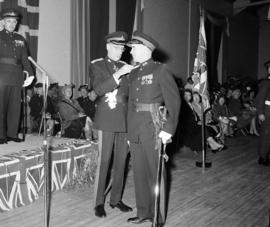 Brigadier P.A.S. Todd and Major Colin MacDonald