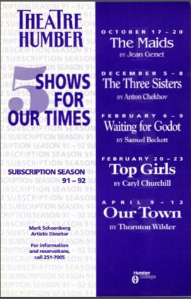 """5 Shows for Our Times"" : [poster]"