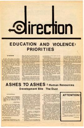 """Direction"" : [April 1975 issue]"
