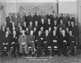 Osgoode Hall - class of 1913, reunion - May 1st, 1948