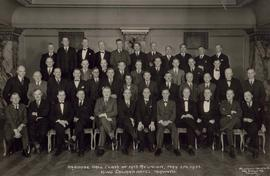 Osgoode Hall class of 1913 reunion, May 5th 1933, King Edward Hotel, Toronto